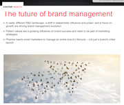 Kantar Health - The future of brand management